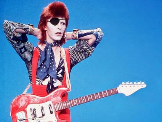 David Bowie played a character called Ziggy Stardust. What was the name of his band?