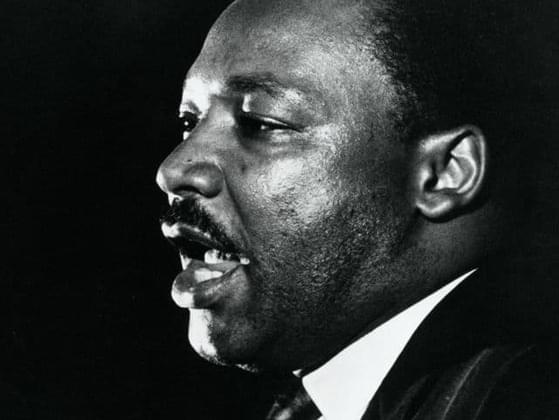 Who was Martin Luther King, Jr. primarily inspired by?