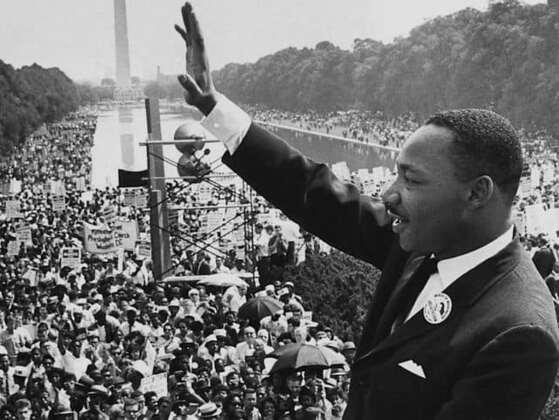 When did Martin Luther King, Jr. deliver his famous