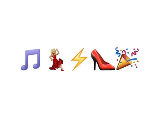 What song are these emojis portraying?