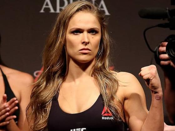 Ronda Rousey is...