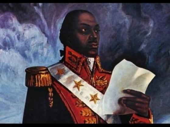 Toussaint Louverture was the Leader of the Haitian Slave Revolution
