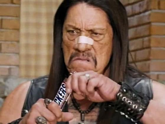 What was the tagline of this fan-favorite commercial with Danny Trejo?