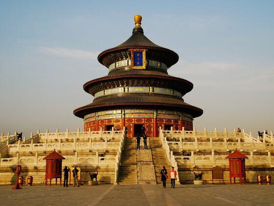 The Temple of Heaven is an imperial complex of religious buildings situated in the southeastern part of central Beijing.
