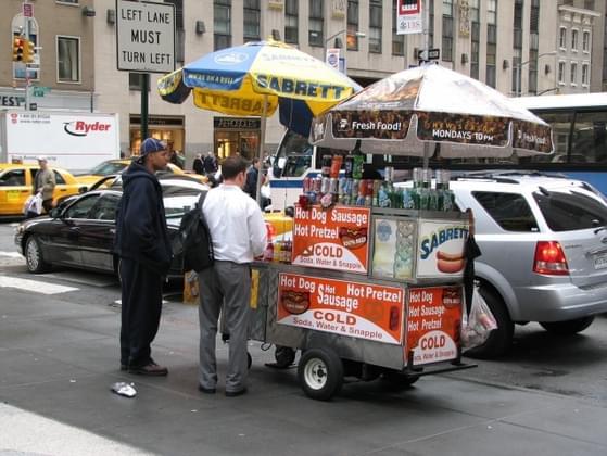 Pick a street food: