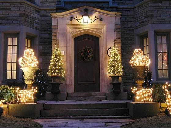 How decorated is your house for the holidays?