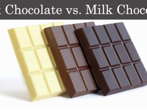 Dark or milk chocolate?