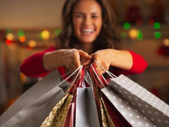 When do you usually get your holiday shopping done?