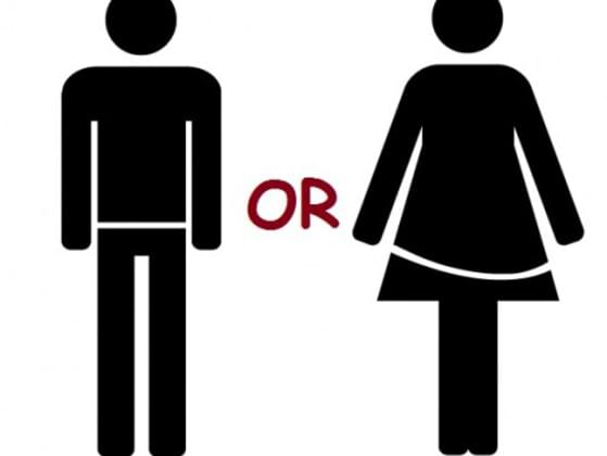 ARE YOU A MALE OR A FEMALE?