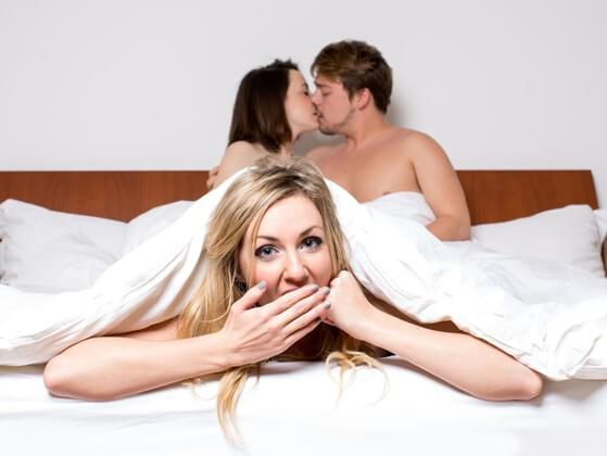 HAVE YOU EVER ENGAGED IN GROUP SEX?
