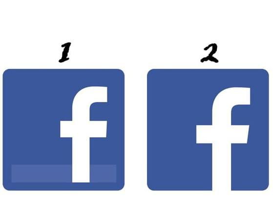 Which is the current Facebook logo?