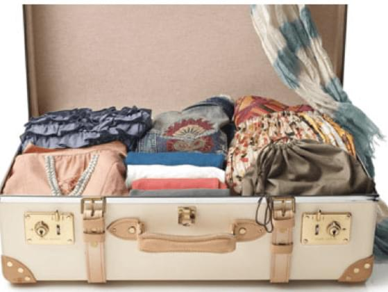 How long does it take for you to pack a suitcase for holiday?
