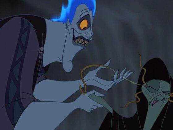 Do you recognize the character shaking hands with Hades from Hercules?