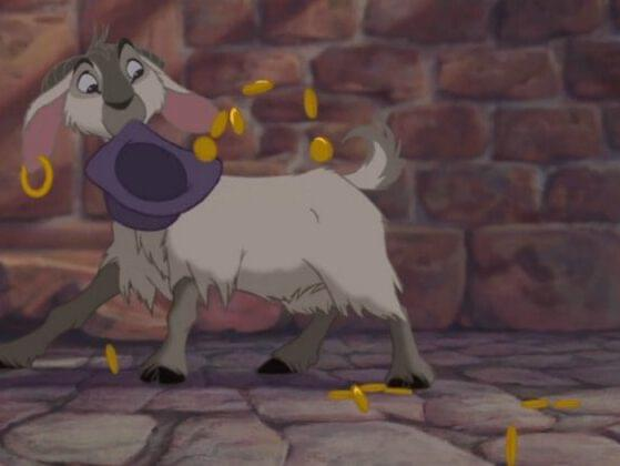 Can you name Esmerelda's goat sidekick in