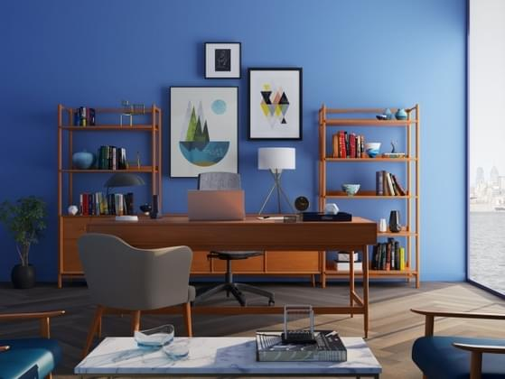Which room of your home do you spend the most time in?