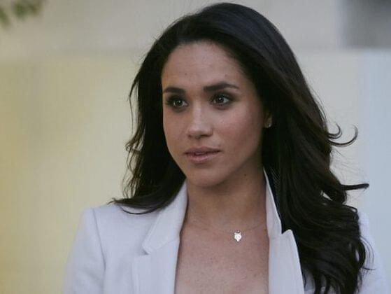 True or false: Markle was previously married to a film director. They split after two years.