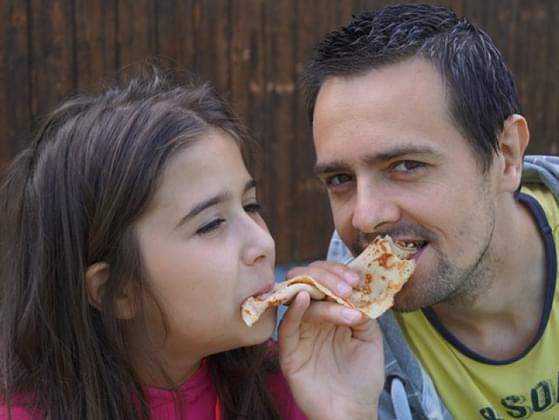 Do you enjoy the same taste in foods?