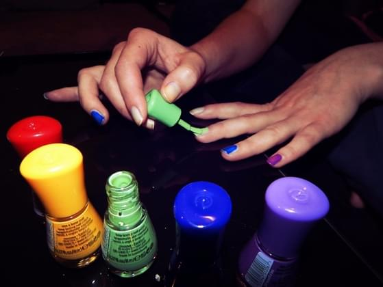 When do you usually take off your nail polish?
