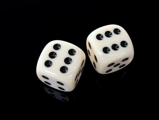 When you roll the dice, your numbers usually add up to...