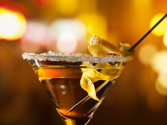 You like your martinis shaken not stirred, like a good spy. Pick a martini from the bar.