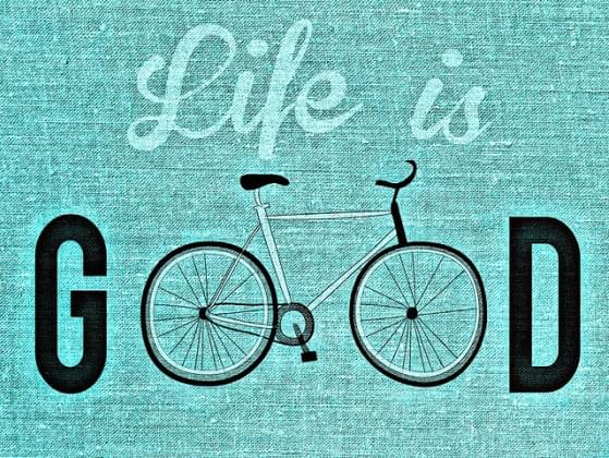 Life is good when life is...