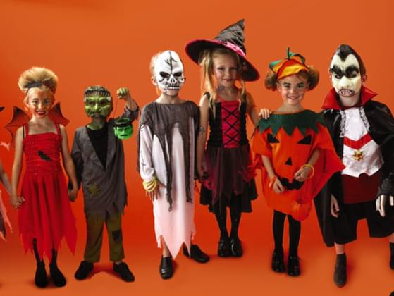 When you were little, what did you do for Halloween costumes?
