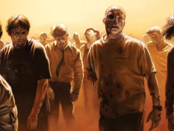 If You were being chased by a horde of zombies and your friend tripped and fell what would you do?