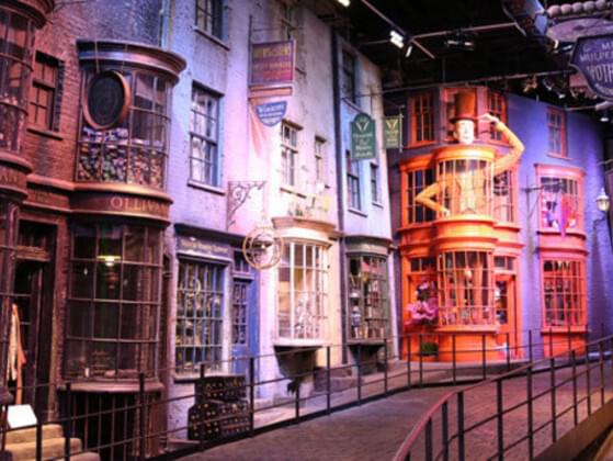 Where's your first stop in Diagon Alley?