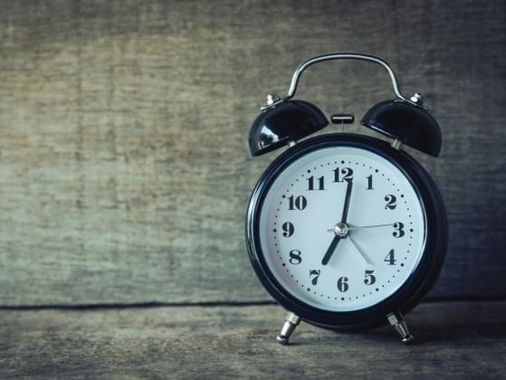 Are you typically 5 minutes early or 5 minutes late?