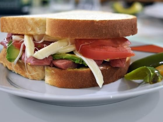 You've decided on a turkey sandwich for lunch. What's the closest to your order?