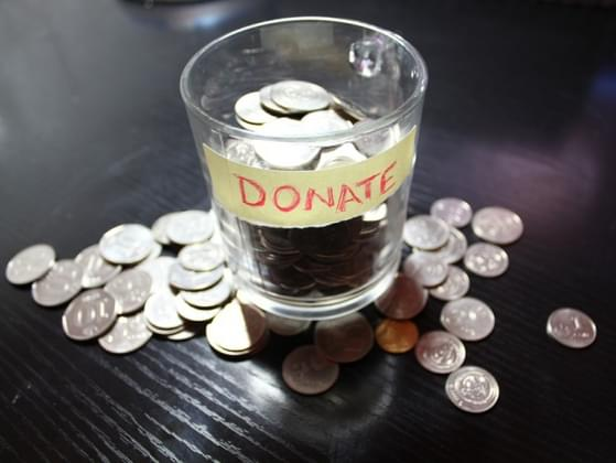 Do you donate loose change into the store collection bins?