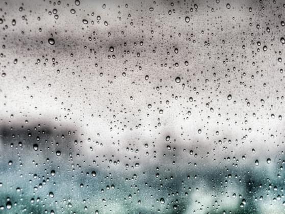 When it rains, you...