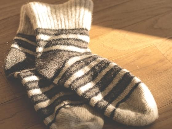 The jungle is very humid, which means wet socks can lead to skin issues. How could you dry your socks off fast?