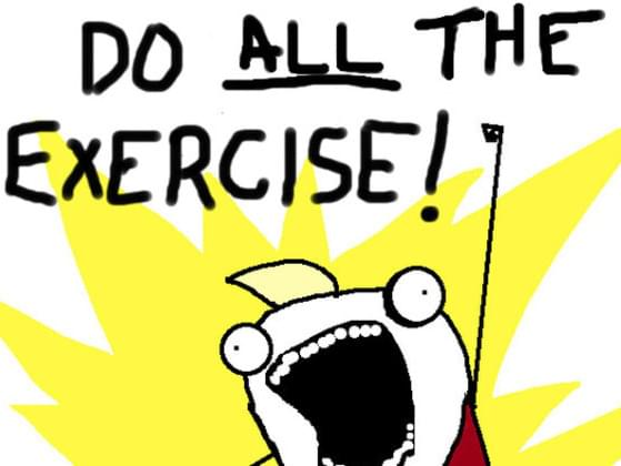 How do you get your exercise?