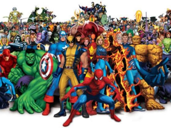 Pick your favorite superhero.