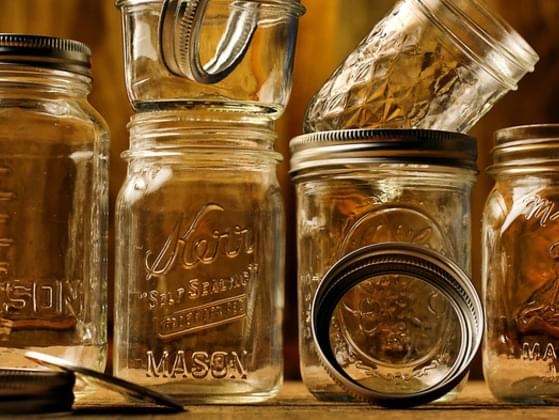 What do you do with mason jars?