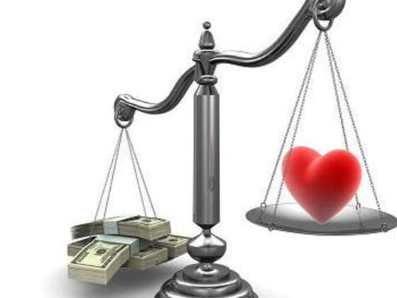 What will do you go for: True love or money