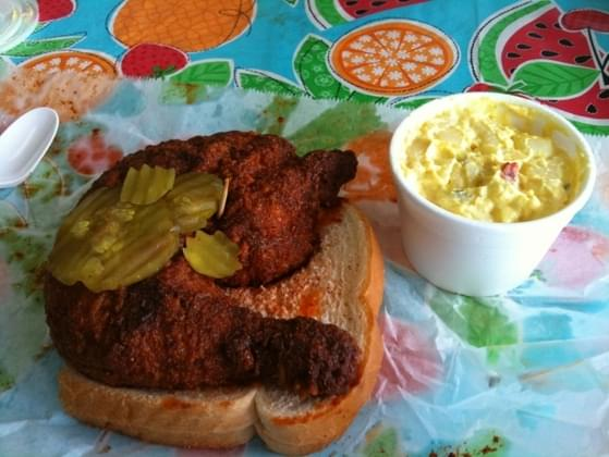 Rate the trendy food: Nashville Hot Chicken.