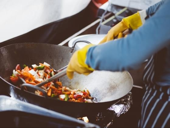 What's the most stressful part of cooking?