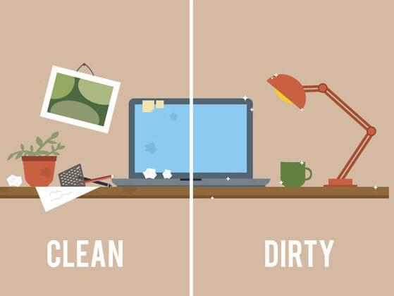 Are you messy or clean?