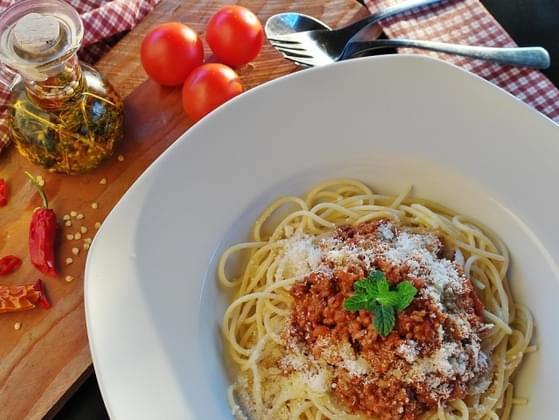 Would you ever put chili on your spaghetti?
