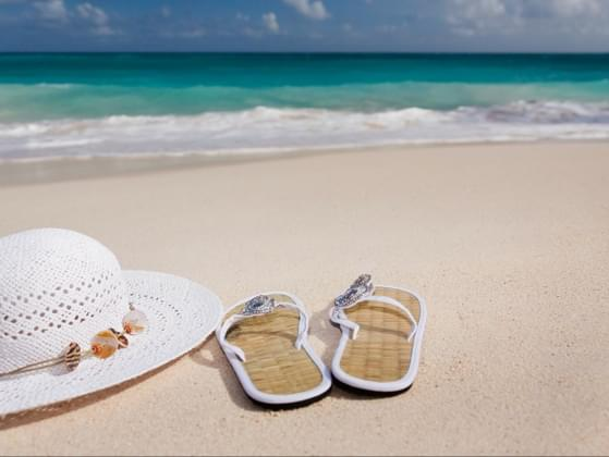 What is your ideal vacation footwear?