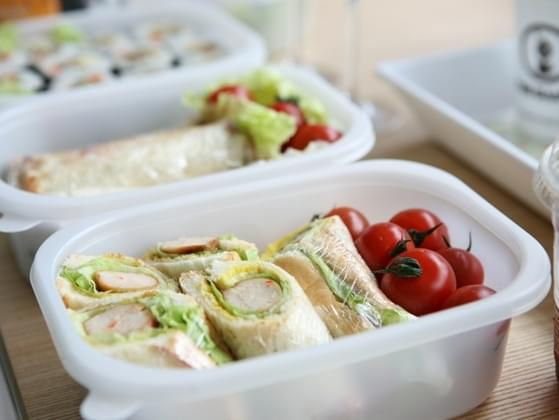 Have you ever packed your partner's lunch for work?
