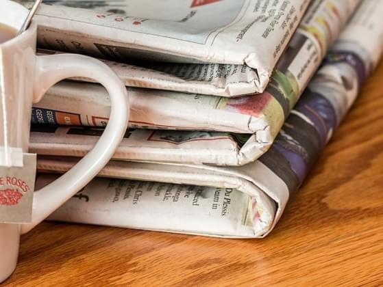 What's the first section of the newspaper you would read each morning?