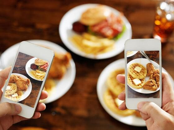 How often do you photograph your food?