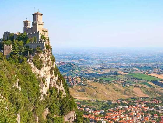 San Marino is in Europe
