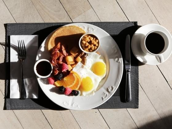 What do you make yourself for breakfast to gear up for the long morning?