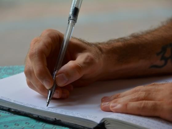 What are you most likely to write about in a journal?