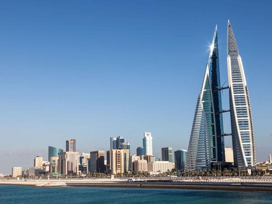 Where in the world is Bahrain?