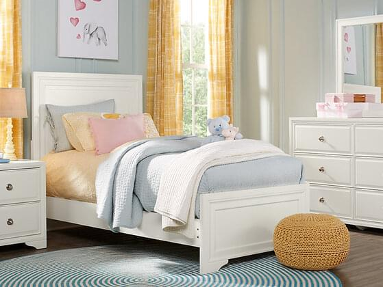 You are most drawn to bedrooms that …
